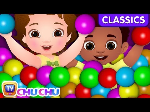 ChuChu TV Classics - Learn Colors & Shapes With Magical Surprise Eggs Ball Pit Show | Nursery Rhymes