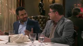 The big bang theory S12 E21 Nobel fellows get into fight during lunch with Sheldon and amy