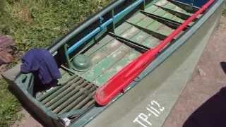 Лодка: Крепление вёсел)