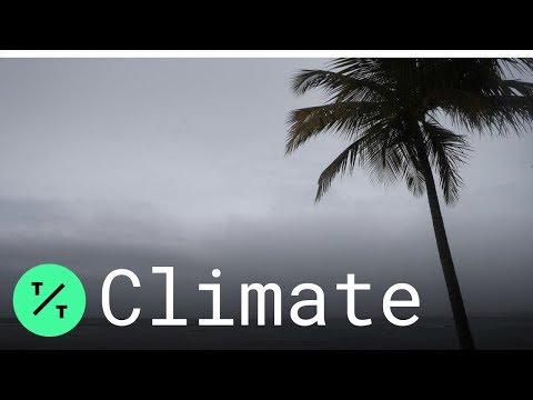 Hurricane Dorian Hits British Virgin Islands With Strong Winds And Rain