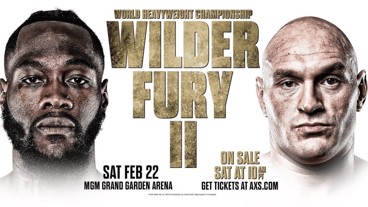 Tyson Fury Vs Wilder 2 Uhrzeit