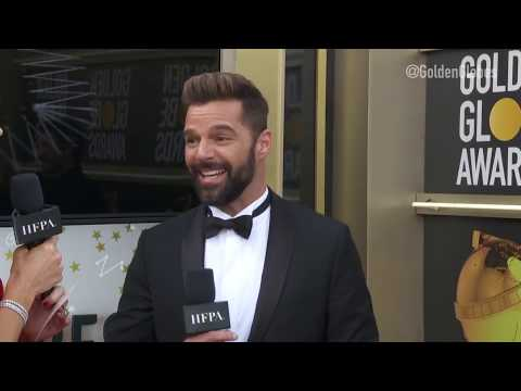 Ricky Martin Red Carpet Interview - Golden Globes 2019