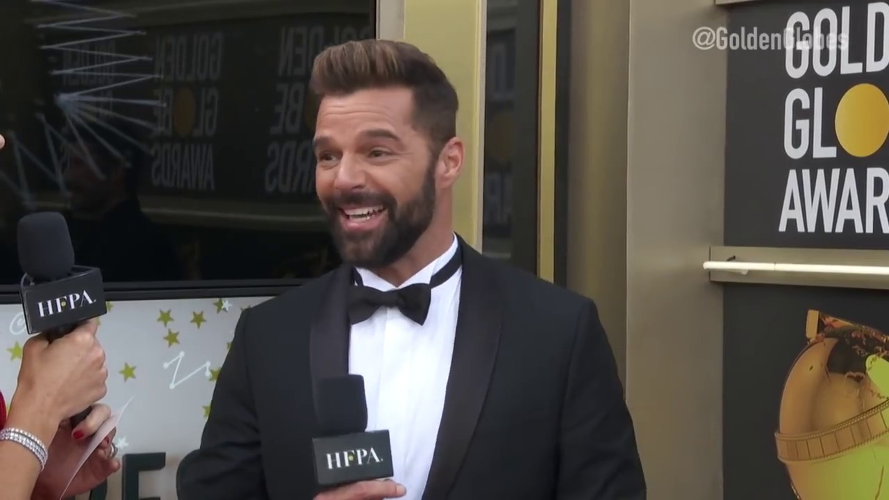 Download Ricky Martin Red Carpet Interview - Golden Globes 2019