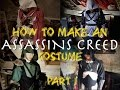 How to Make An Assassins Creed Suit - Part 1 - Making a Jacket Base & Hood | Process Video