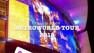 Travis Scott ASTROWORLD TOUR 2018 MIAMI