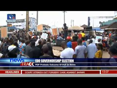 PDP Protests Outcomes Of Poll In Benin