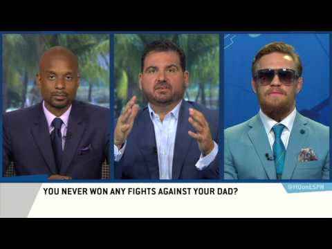 Conor McGregor tells