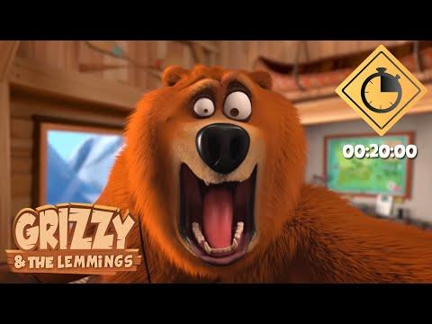 20 minutes de Grizzy & les Lemmings // Compilation #24 - Grizzy & les Lemmings