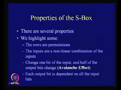 Mod-01 Lec-11 Block Cipher Standards (DES)
