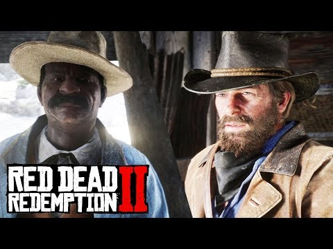 Red Dead Redemption 2 - Duel With Joshua Brown (Bounty Hunting)
