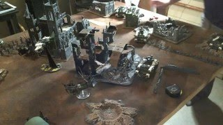FullyPainted Dark Eldar vs Space Marines Warhammer 40k 6e Battle Report 1500pts