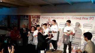 Apollinaire Mousetrap Car Race Monaco 2017   remise prix   Lola