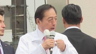 17/10/02 東京12区 太田あきひろ 街頭演説会 山口代表、安倍首相応援