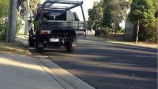 landcruiser dual cab 3'' exhaust