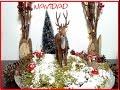 D.I.Y. Ideas - Mini Jardin Navideño  para decorar tu casa en Navidad -muñeco - venado Rudolf
