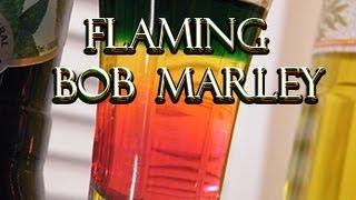 Flaming Bob Marley Shot - Bob Marley Drink Recipe - Thefndc.com