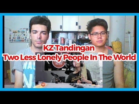 KZ Tandingan covers Two Less Lonely People In The World (Air Supply) LIVE on Wish 107.5 Bus REACTION