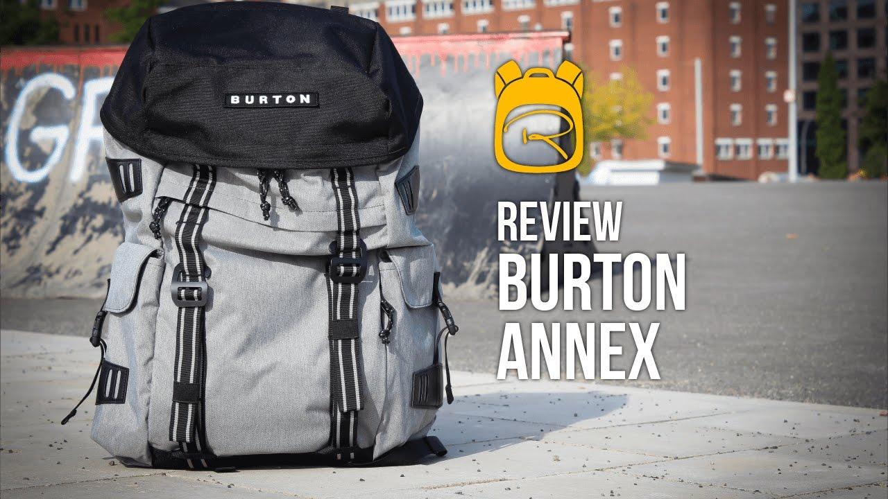Volumen groß Discounter schön Design Burton Annex - Review auf Deutsch - Rucksack Test