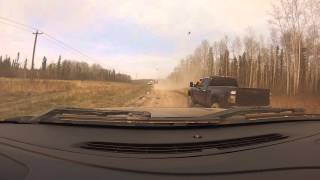 Ft mcmurray forest fire turn around and you won't believe what happens...