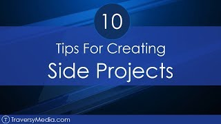 Gambar cover 10 Tips For Starting & Creating Side Projects