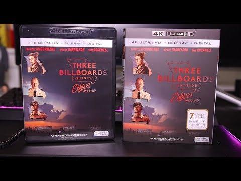 Three Billboards Outside Ebbing, Missouri 4K Blu-Ray Review