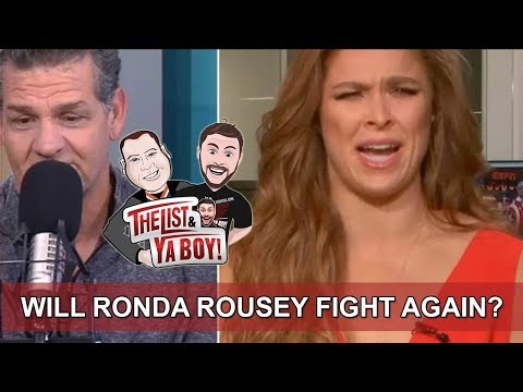 The List & Ya Boy Wrestling Podcast #65!: Rousey, Shane McMahon, NJPW, Guest Joey Janela, More!