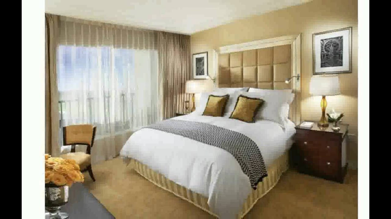 Small bedroom design ideas for women youtube for Photos of bedroom designs for small rooms