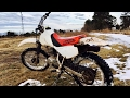 Dirt Biking! First ride of 2017 on the 1998 Honda Xr100r!