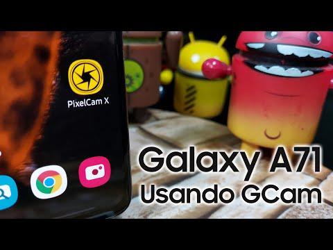 Galaxy A71, precisa de GCam? #PixelCamX