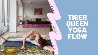 Tiger Queen Yoga Flow