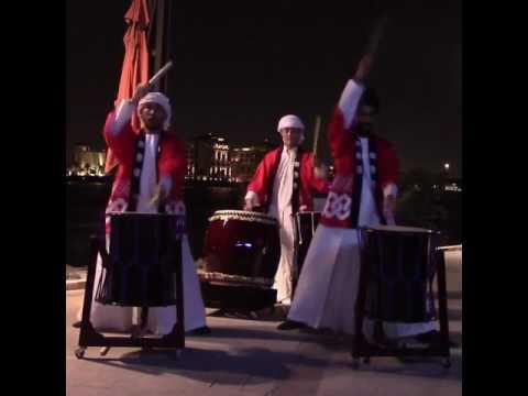 Japanese Drum Performers