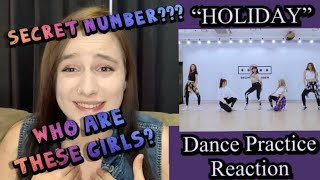 "Download lagu Secret Number ""Holiday"" Dance Practice (Fixed Ver.) | (REACTION)"