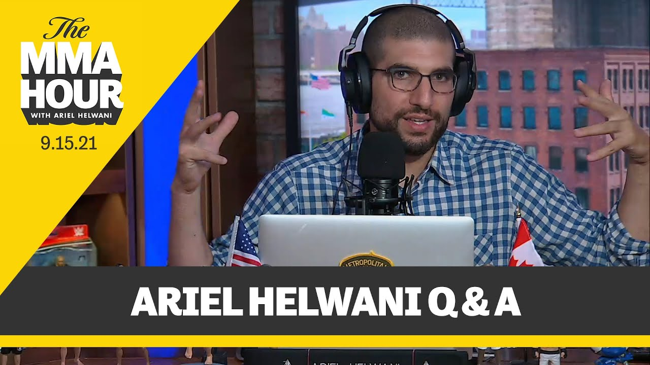 Download Ariel Helwani Explains How He Would Fix UFC in Latest Q&A   The MMA Hour