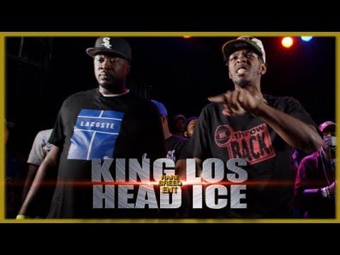 KING LOS VS HEAD ICE RAP BATTLE - RBE