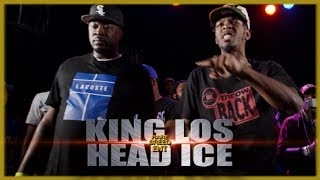 KING LOS VS HEAD ICE RAP BATTLE - RBE