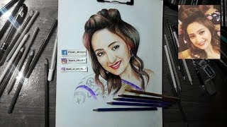 """""""Bala Hijam"""" Speed drawing Manipuri Best Actress"""