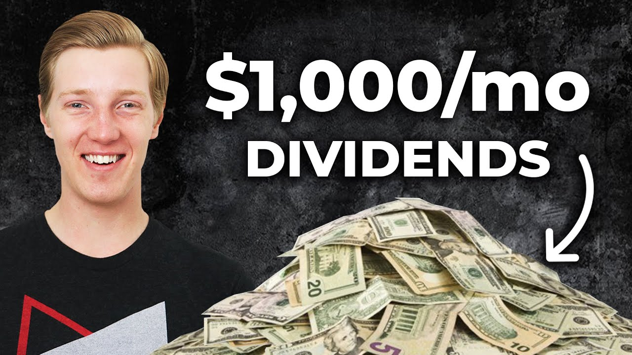 1000 per month from DIVIDEND stocks Passive income from investing