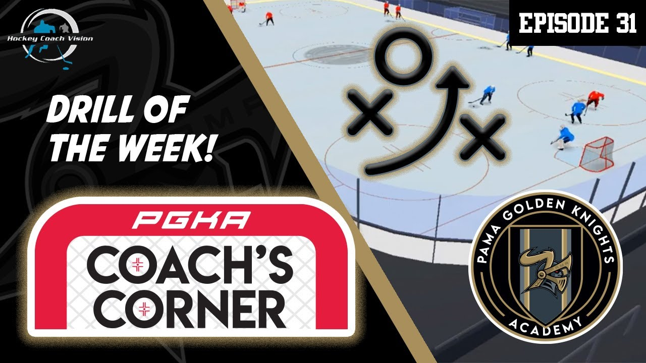 PGKA - Coach´s Corner - Episode #31 - Black-Red-Blue Multi Puck Small Area Game