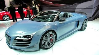 2012 Audi R8 GT Exterior and Interior at 2012 New York International Auto Show NYIAS