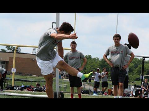 90-yard Kickoff by High School Junior Logan Tyler