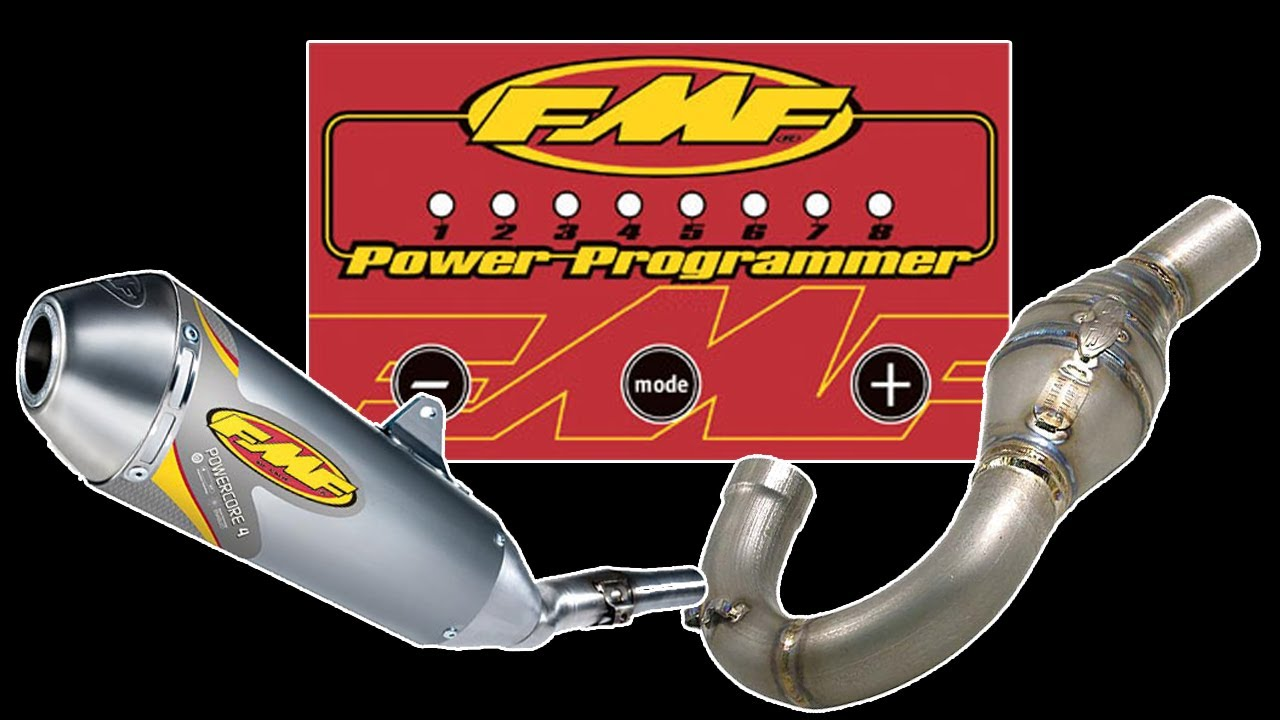 How to setup an FMF Power Programmer Fuel Injection Tuner for the Yamaha  WR250R - NJBIKELIFE