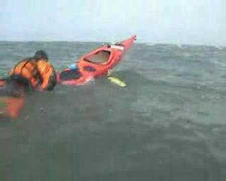Sea Kayak Self Rescue - The Ladder