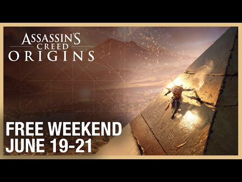Assassin's Creed Origins: Uplay Free Weekend | June 19-21 | Ubisoft [NA]