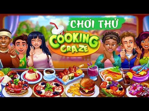 [OTech Review] Chơi thử game nấu ăn siêu vui nhộn: Cooking Craze