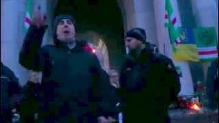 Ильяс Мусаев на Майдане Независимости в Киеве 22.02.15.