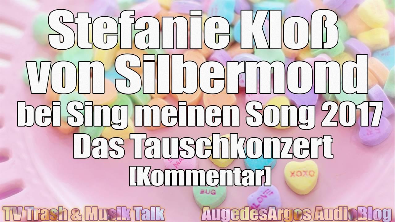 Stefanie Kloß Von Silbermond Bei Sing Meinen Song 2017 Das