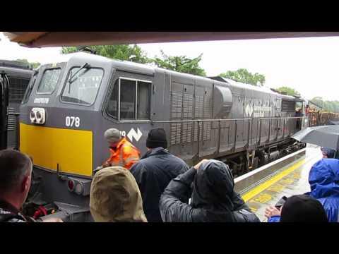 IRRS 071 Class Railtour to Ballina & Westport 18-July-2015
