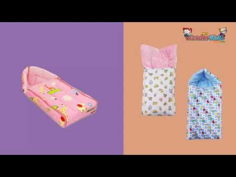 Wonderkids Baby Bedding Set's