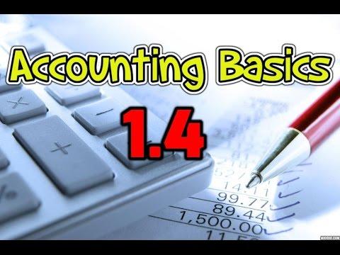 Accounting Basics 1.4 - Balance Sheet