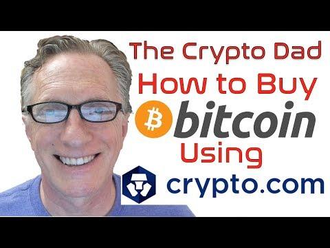 How To Buy Bitcoin On Crypto.com